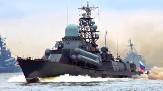 Пуснаха видео от съвместни учения на ВМС и ВКС на Русия в Средиземно море