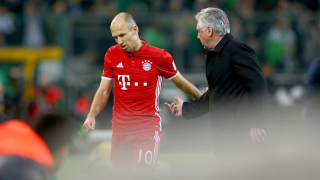 И Робен недоволства след мача с Андерлехт