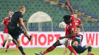 ЦСКА - Виктория (Пилзен) 3:0 (Развой на срещата по минути)