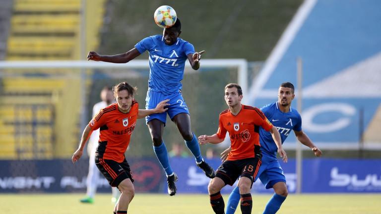 Хали Тиам подновява тренировки, завръща се срещу ЦСКА