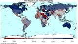 Тази карта показва от кои страни хората бягат и в кои отиват