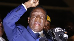 Крокодила се закле като новия президент на Зимбабве