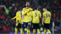 Обамеянг прекрати преговорите с Арсенал за нов договор