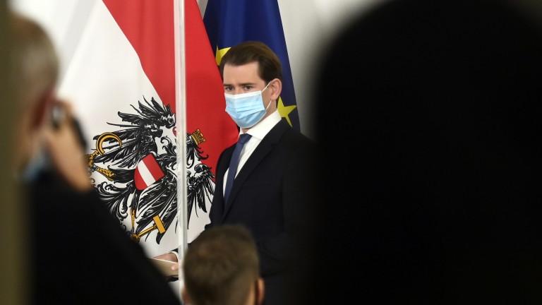 Австрия налага национална блокада от вторник