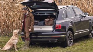 Bentley направи специален Bentayga за ловци (ВИДЕО)