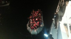 Наши гранични полицаи спасили 120 мигранти в Егейско море