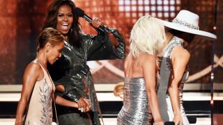 Защо Мишел Обама излезе на сцената на Грами