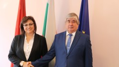 По традиция Нинова се срещна с руския посланик Макаров