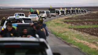 """Десетки терористи от """"Ислямска държава"""" ликвидирани при въздушен удар на Русия"""