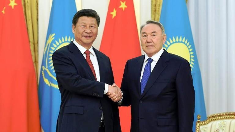 Китай и Казахстан не крият топлите си отношения
