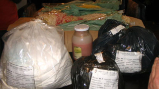 Амфетамин на €1.8 млн. разкрит в две кюстендилски села