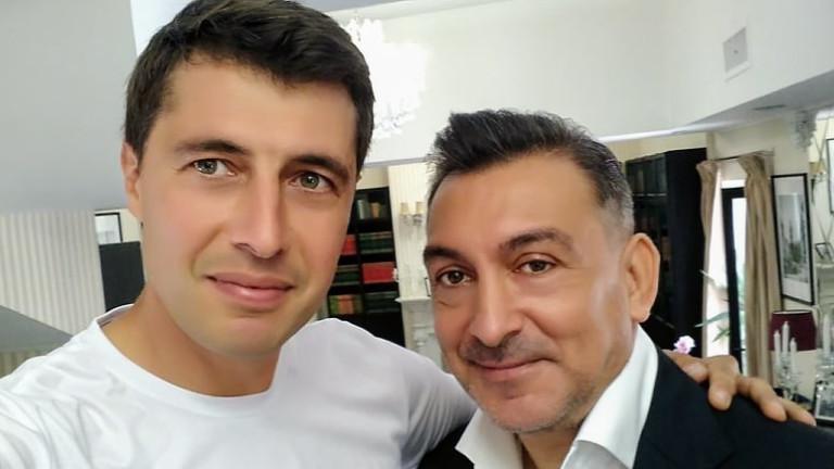 Легендарният футболист Илие Думитреску се срещна с футболния общественик Кирил