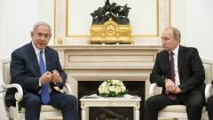 Нетаняху звънна на Путин, за да обсъдят Сирия и Иран