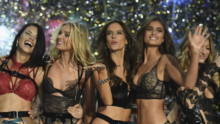 Какво хапват моделите на Victoria's Secret
