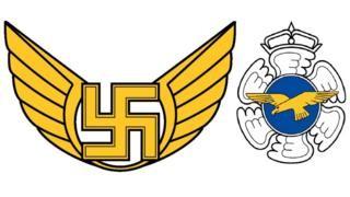 ВВС на Финландия тихомълком замениха свастиката със златен орел