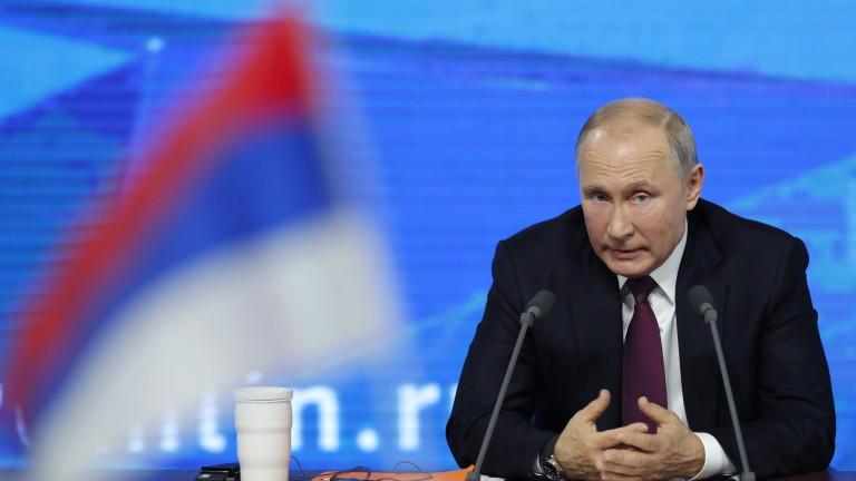 Путин убеден: Скандалите с руски шпиони на Запад целят да спрат Русия