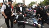 В Лондон и Сидни арестуваха стотици протестиращи срещу климатичната криза