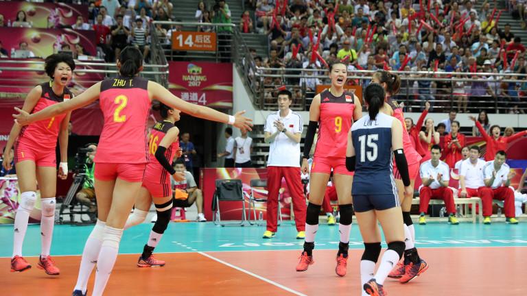 Китай победи Холандия в драматичен пет геймов мач с 3:2