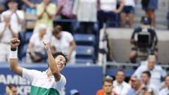 Кей Нишикори продължава на четвъртфинал в Метц