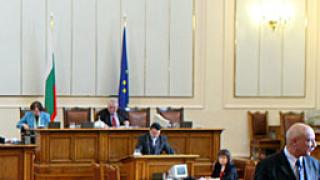 Празна пленарна зала провали гласуването на изборния закон