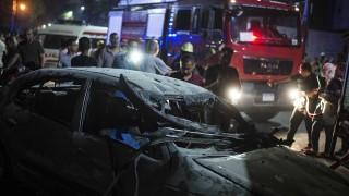 Кървава експлозия на кислородна бутилка в Кайро