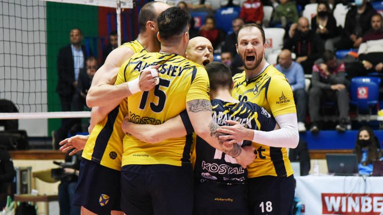 Хебър (Пазарджик) е волейболен шампион на България