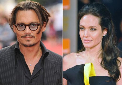 Джони Деп реже секс сцени с Анджелина - страх го е от жена му