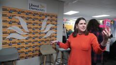 Лидерът на Либералните демократи Джо Суинсън подаде оставка