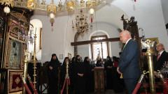 Монасите от Бигорския манастир с благодарствен отговор към наши евродепутати