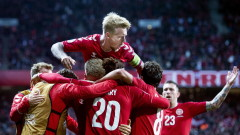 Дания дочака своя момент и постигна важен успех в група D