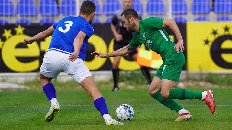 Спартак (Варна) - Лудогорец 0:1 (Развой на срещата по минути)