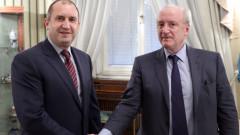 Европейското бъдеще обсъдиха Румен Радев и съветник на Франсоа Митеран