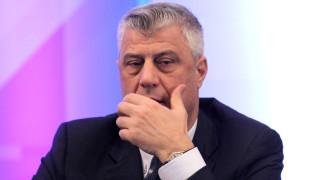 Тачи иска референдум за споразумението със Сърбия