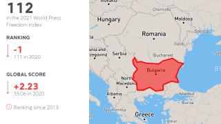 България пада на 112-то място по свобода на словото в света