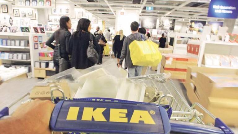 Ikea готви €5,8 милиарда за имотни сделки