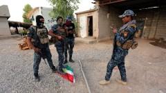 Иракските сили свалиха кюрдското знаме от сградата на губернатора в Киркук