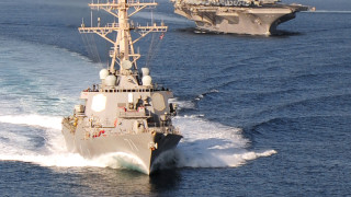 Бойни кораби на Русия следят разрушител на САЩ в Черно море