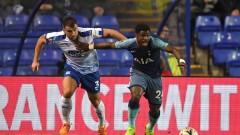 Тотнъм вкара 6 гола за едно полувреме на старта на третия кръг за ФА Къп