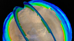 Учени от  NASA съставиха първата карта на прашните бури на Марс