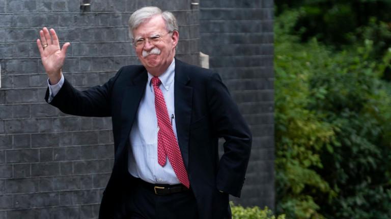 Съветникът на президента на САЩ за национална сигурност Джон Болтън