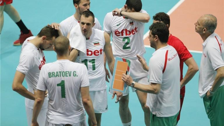 България ще играе със САЩ втория си мач от волейболната