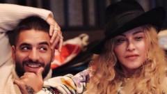 Мадона и Малума в неочаквано интимна комбинация
