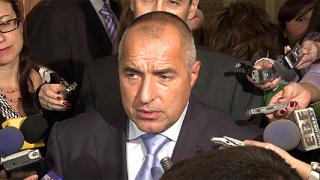 Борисов: Партиите в парламента да ми благодарят