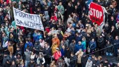 Хиляди словаци на протест срещу корупцията