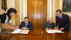 Цацаров подписа споразумение за сътрудничество с главния прокурор на Унгария