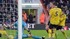 Борнемут и Арсенал не се победиха в треньорския дебют на Микел Артета