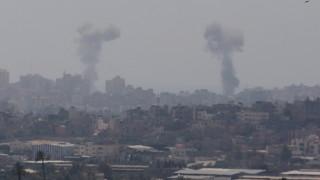 "Израел обстрелва постове на ""Хамас"" след изстреляни ракети"