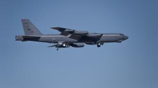 Руски изтребител пресреща бомбардировач на САЩ над Черно море