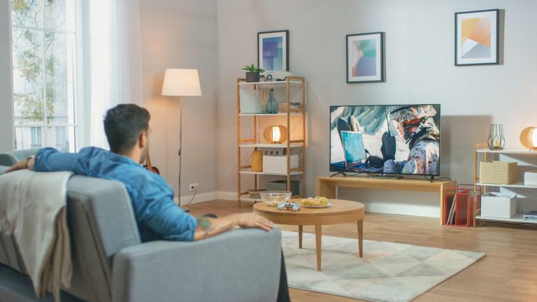 Кога гледането на телевизия става опасно за здравето