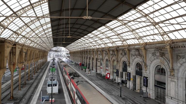 Френските железопътни работници започнаха двудневна стачка във връзка с планове